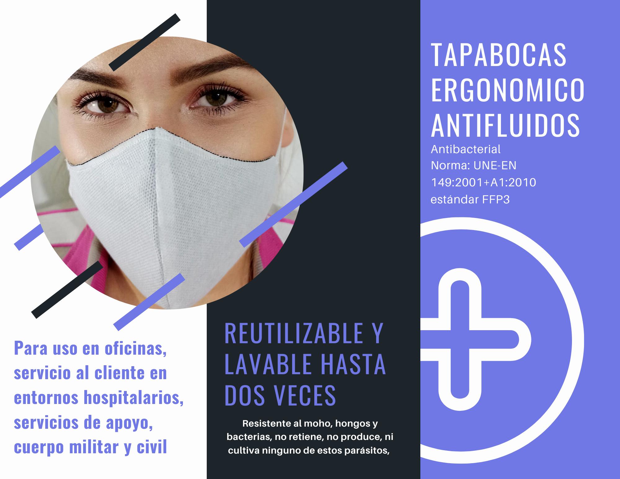 TAPABOCAS ERGONOMICO +b